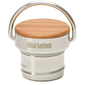 Klean Kanteen Classic Stainless Unibody Bamboo Cap Brushed Stainless